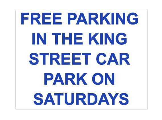 Free mall parking on Saturdays
