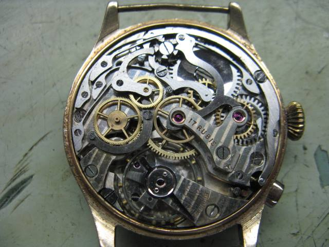 Restored Omega 17 Jewel mechanical Watch Movement